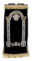 Hand Embroidered Gate with Crown