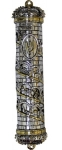 Jerusalem Crown Mezuzah