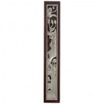 Dark Brown Waterproof Mezuzah Case - 12cm