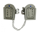 Ten Commandment Tallit Clip
